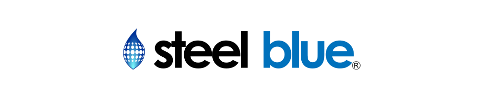 Steel Blue Fabrication Logo